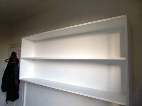 hardwood bookcases