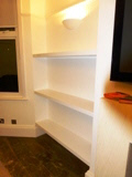 Fitted Long Shelves