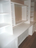 builtin  cabinets fitted